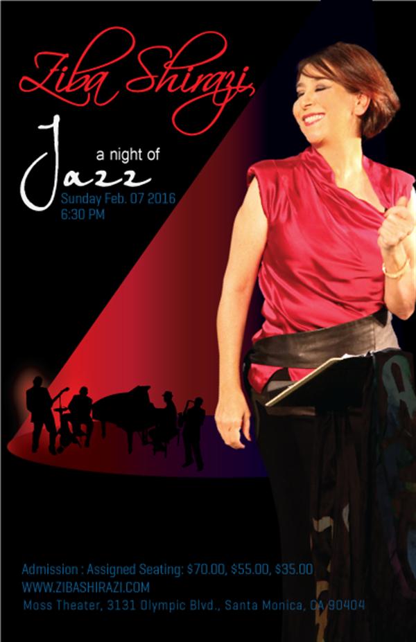 Get Information and buy tickets to A Night of Jazz  on www.zibashirazi.com