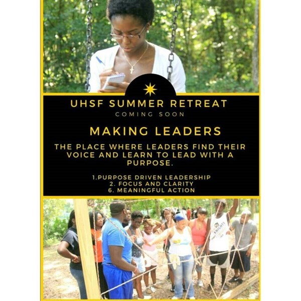 Get Information and buy tickets to UHSF 2k15 Summer Retreat Leadership Retreat on UHSF
