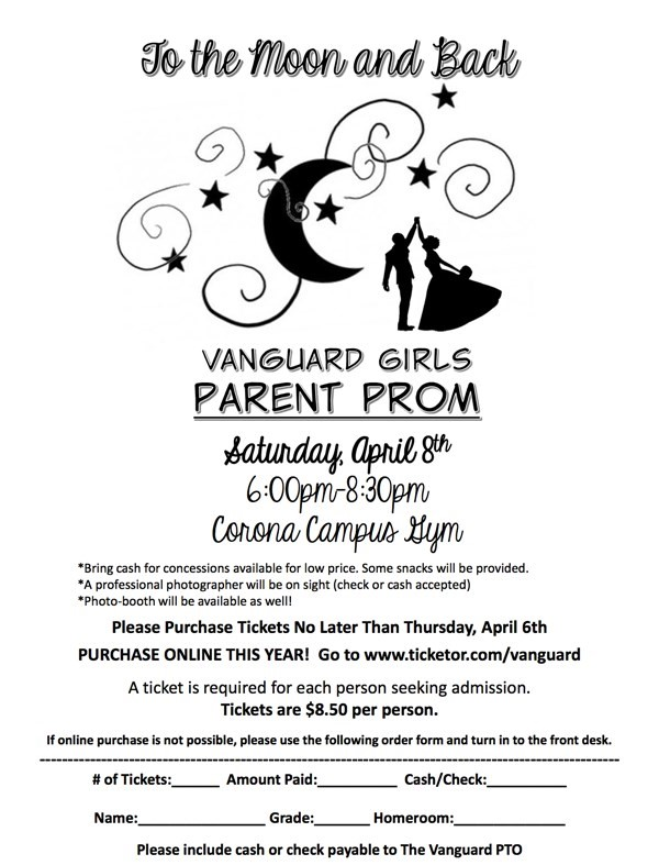 Get Information and buy tickets to K-6 Vanguard Girls