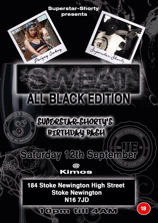 Get Information and buy tickets to Sweat All black edition Superstar-Shorty