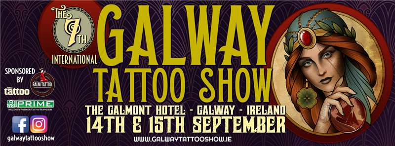 Get Information and buy tickets to Galway Tattoo Show 2019 Sunday Tickets on Galway Tattoo Show