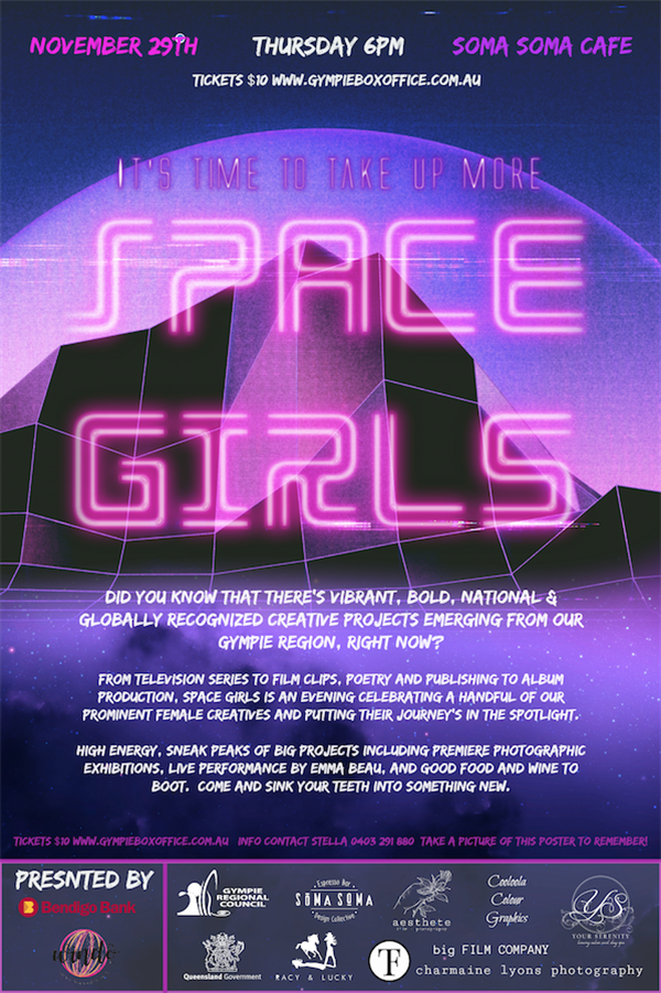 Get Information and buy tickets to Space Girls It
