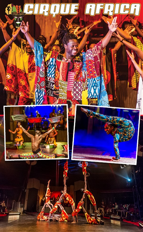 Get Information and buy tickets to Cirque Africa The Greatest show 100% African 100% Energy 100% Fun on Gympie Box Office