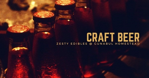 Get Information and buy tickets to World of darkness craft beer tasting Hosted by Zesty Edibles at Gunabul Homestead on Gympie Box Office
