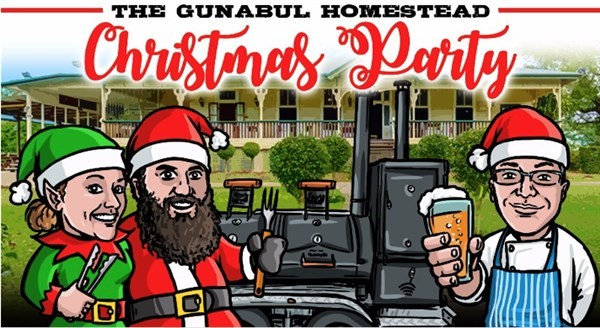 Get Information and buy tickets to Gunabul Homestead Christmas Party Hosted by Zesty Edibles at Gunabul Homestead on Gympie Box Office