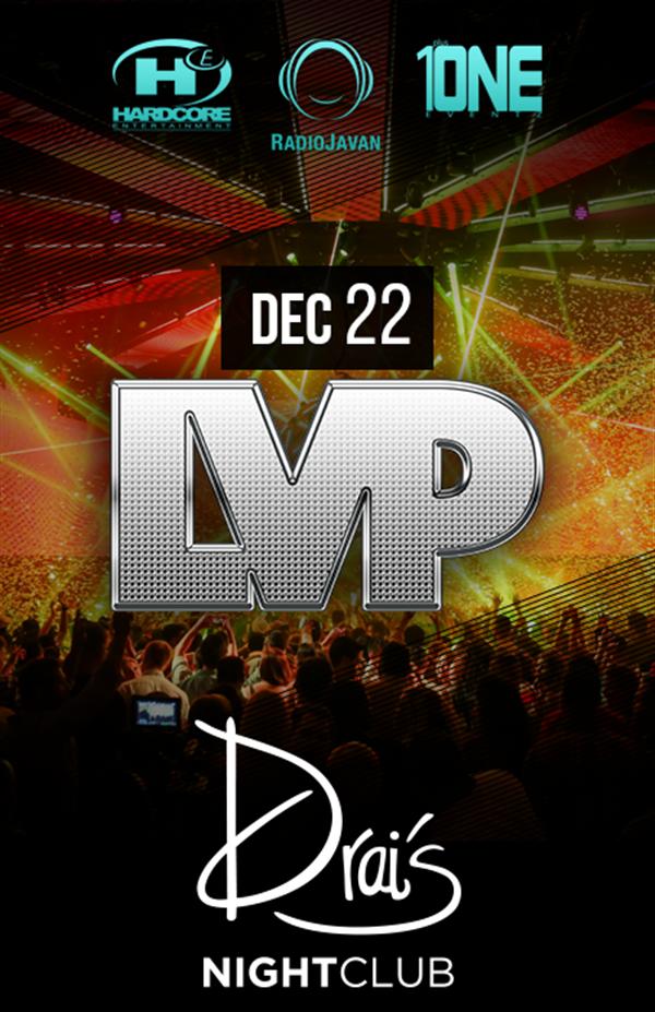 Night 2: Sunday, Dec 22 @ DRAI'S Nightclub - Buy tickets