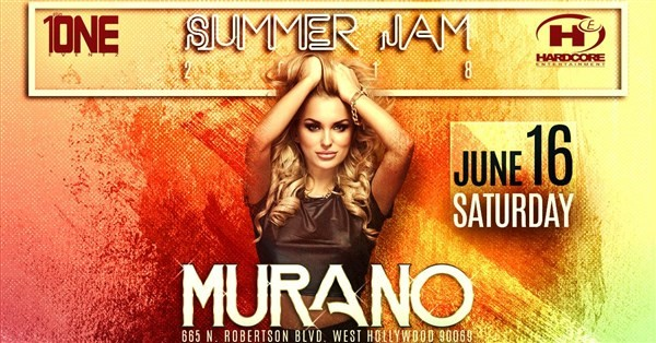 Get Information and buy tickets to TONIGHT 6/16 @ MURANO NIGHTCLUB (MORE TICKETS AVAILABLE AT THE DOOR) on HARDCORE & PLUS ONE