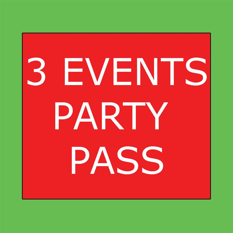 Get Information and buy tickets to 3 EVENTS PARTY PACK (POPPY, DERRIER & NOROUZ PARTY) Entry to 3 Events (1/18 Poppy, 2/22 Derrier & 3/21 Norouz) on HARDCORE & PLUS ONE