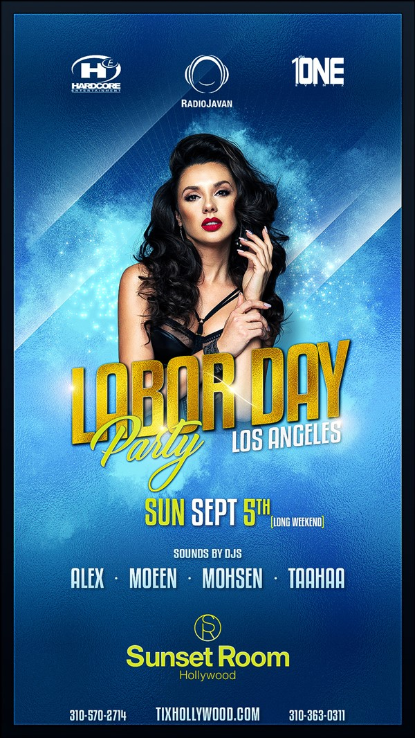 Get Information and buy tickets to TONIGHT 9/5 Labor Day Party @ SUNSET ROOM (MORE TICKETS AVAILABLE AT THE DOOR) on HARDCORE & PLUS ONE