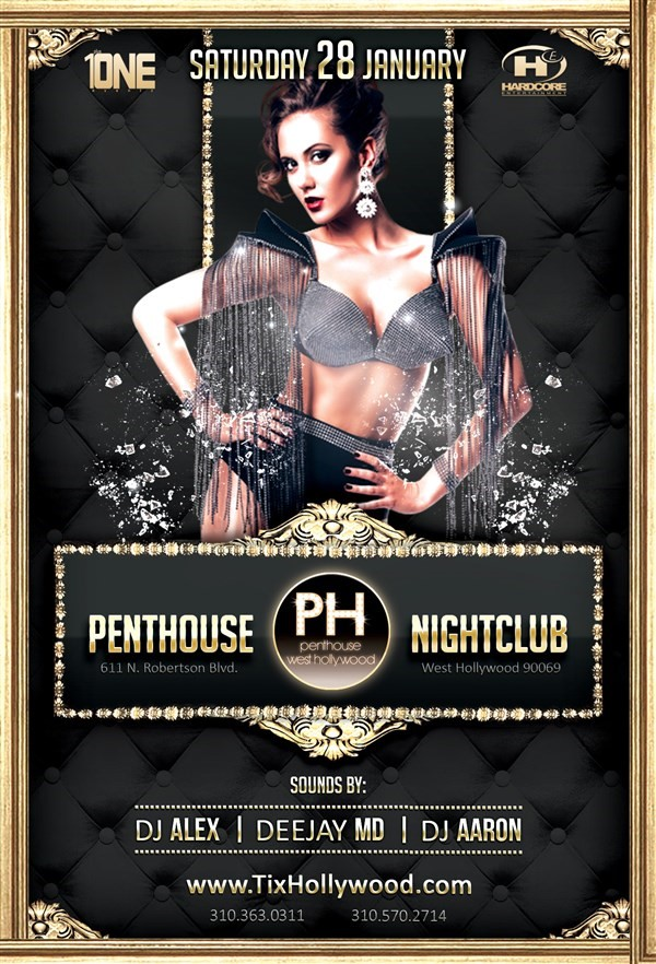 Get Information and buy tickets to TONIGHT 1/28 @ PENTHOUSE NIGHTCLUB MORE TICKETS AVAILABLE AT THE DOOR on HARDCORE & PLUS ONE