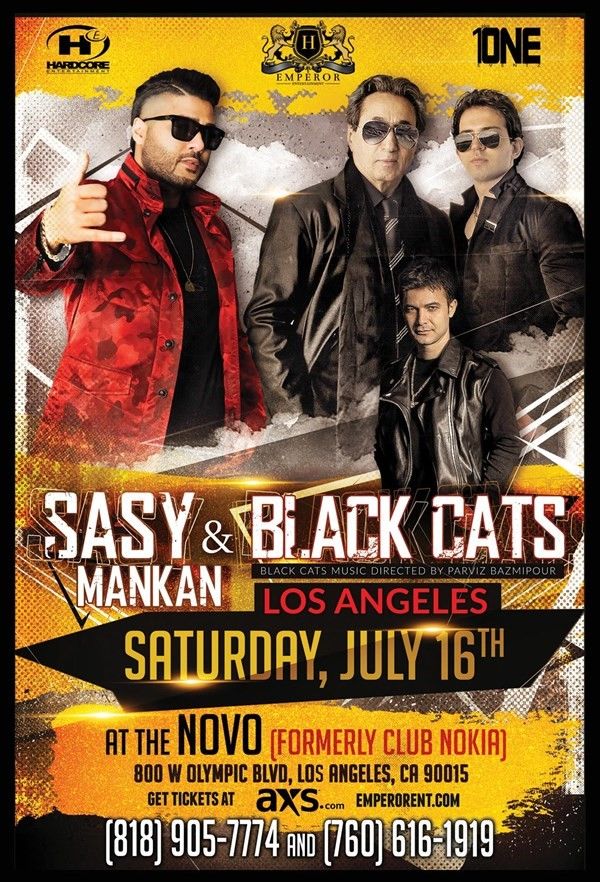 Get Information and buy tickets to SASY Mankan & BLACK CATS Live in Los Angeles (Saturday, July 16th) on HARDCORE & PLUS ONE