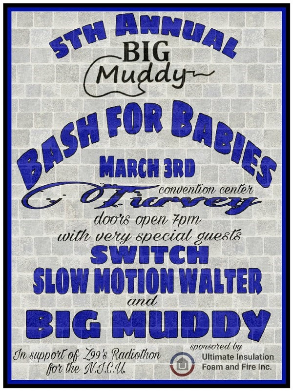 Get Information and buy tickets to Big Muddy Baby Bash  on Turvey Convention Center