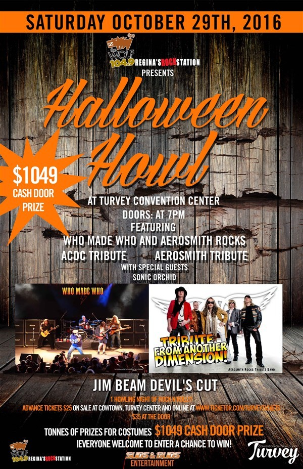 Get Information and buy tickets to 104.9 The Wolf Presents the Halloween Howl NOD
