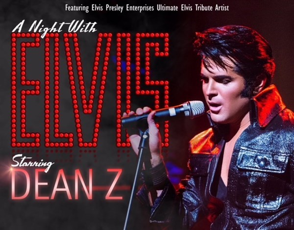 "Get Information and buy tickets to One Night With You"", Starring Dean Z, the Ultimate Elvis on Turvey Convention Center"