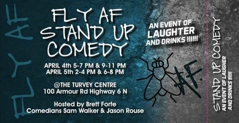 Get Information and buy tickets to FLY AF STAND UP COMEDY 3 AN EVENT OF LAUGHTER AND DRINKS on Turvey Convention Center