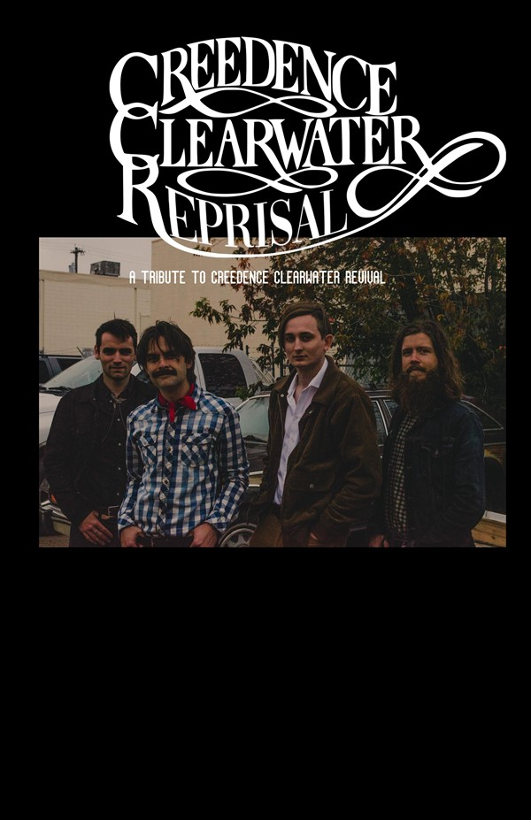 Get Information and buy tickets to CREEDENCE CLEARWATER REPRISAL Tribute To CCR on Turvey Convention Center