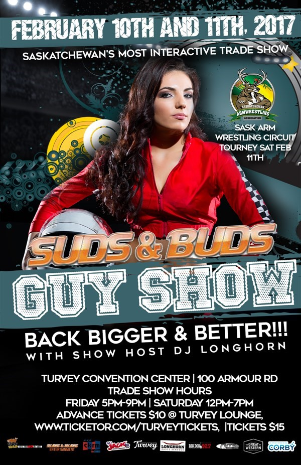 Get Information and buy tickets to Suds & Buds Guy Show Saturday Saturday Admission on Turvey Convention Center