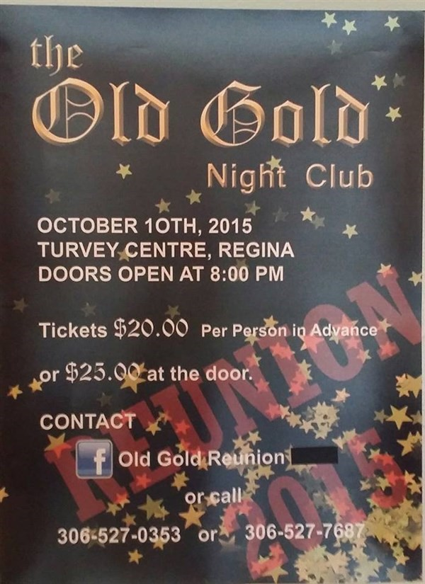 Get Information and buy tickets to The Old Gold Night Club Reunion  on Turvey Convention Center