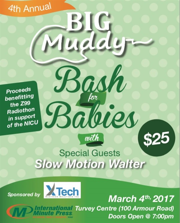Get Information and buy tickets to Big Muddy Bash for Babies  on Turvey Convention Center