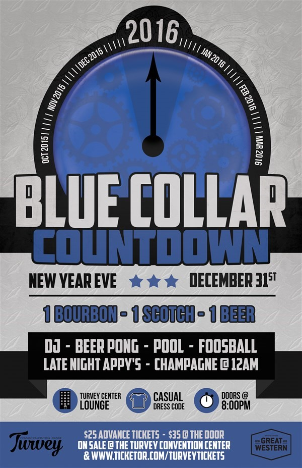 Get Information and buy tickets to Blue Collar New Year