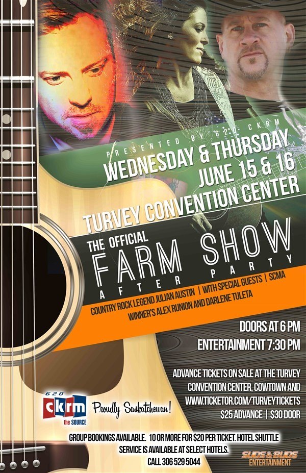 Get Information and buy tickets to Farm Show After Party Thursday on Turvey Convention Center