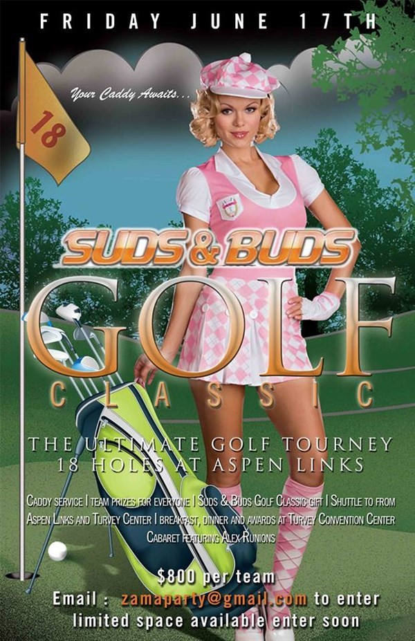 Get Information and buy tickets to Suds & Buds Golf Classic  on Turvey Convention Center