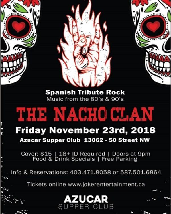 Get Information and buy tickets to Rock en Español - El Tributo Edmonton  on www.jokerentertainment.ca