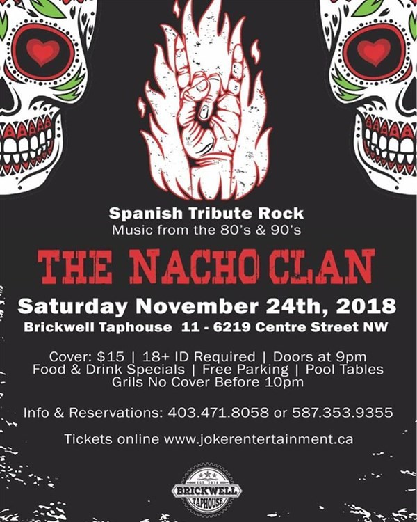 Get Information and buy tickets to Rock en Español - El Tributo Calgary  on www.jokerentertainment.ca