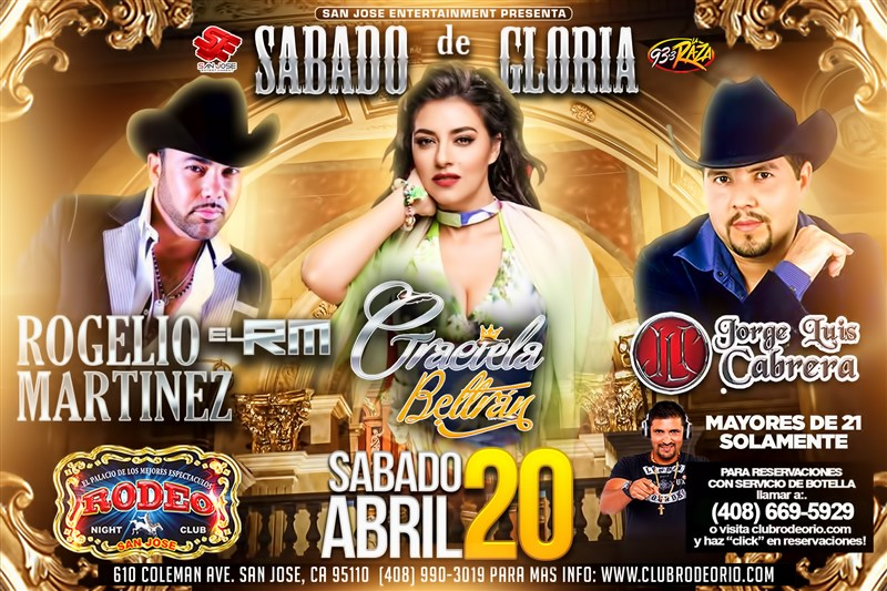Get Information and buy tickets to Graciela Beltran,Jorge Luis Cabrera y Rogelio Martinez  on clubrodeorio.com