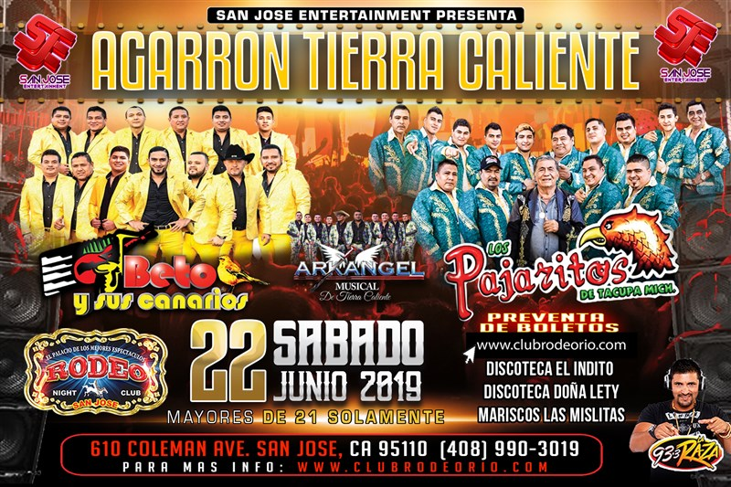 Get Information and buy tickets to Beto y sus Canarios y Los Pajaritos de Tacupa Agarron de Tierra Caliente on Clubrodeorio.com