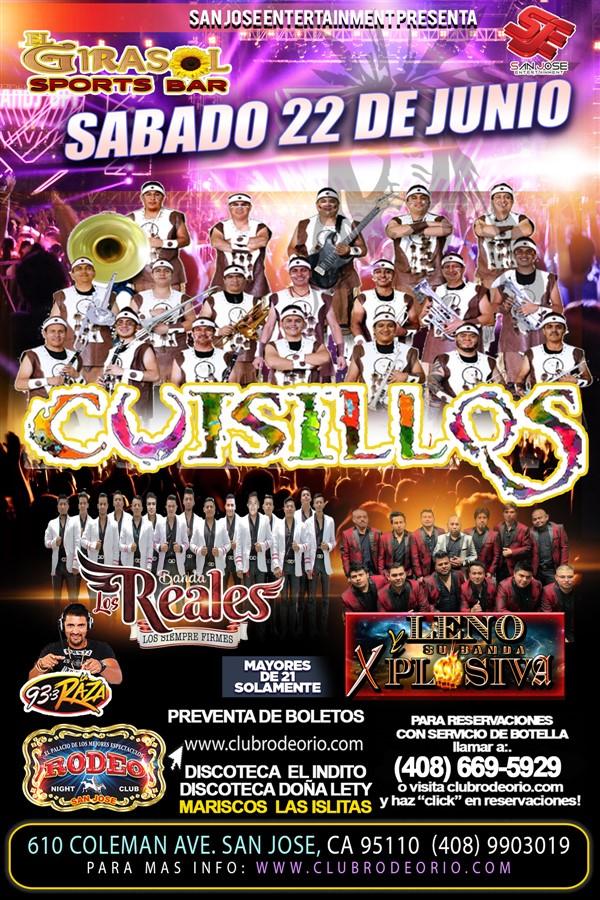 Get Information and buy tickets to Banda Cuisillos ,Sabado 22 de junio  on clubrodeorio.com