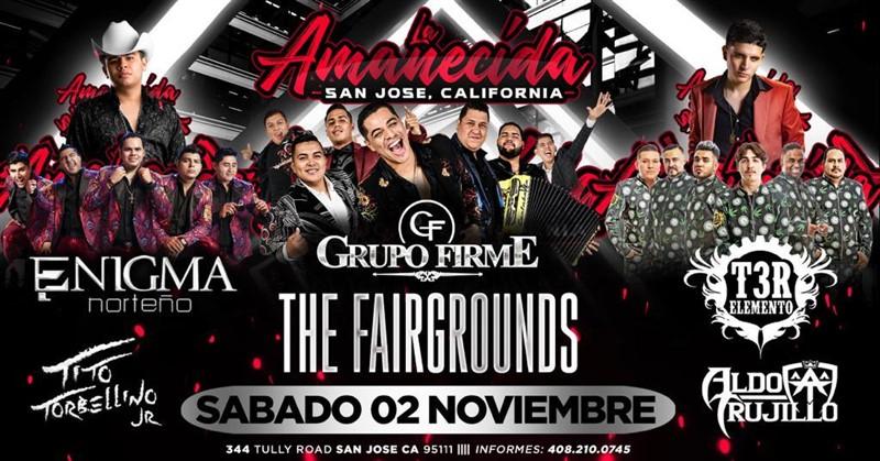 Get Information and buy tickets to Grupo Firme,T3R Elemento,Aldo Trujillo,Enigma Norteño La Amanecida on clubrodeorio.com
