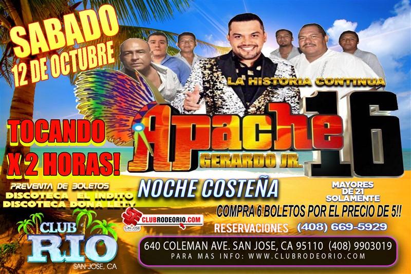 Get Information and buy tickets to Gerardo Magallon Jr y Apache 16  on clubrodeorio.com