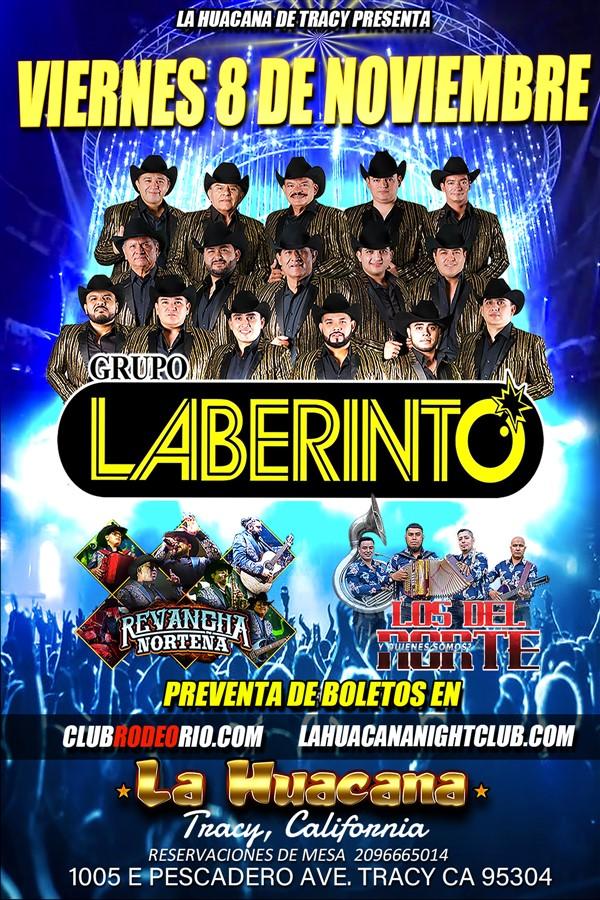 Get Information and buy tickets to Grupo Laberinto,en La Huacana de Tracy  on clubrodeorio.com