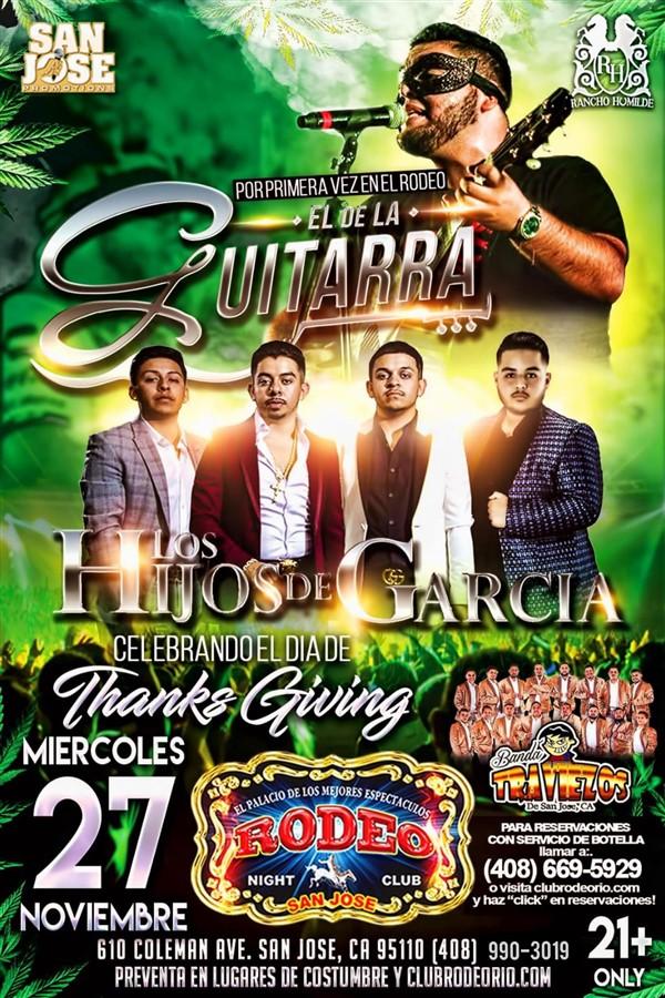 Get Information and buy tickets to El de La Guitarra,Miercoles 27 de Noviembre  on clubrodeorio.com