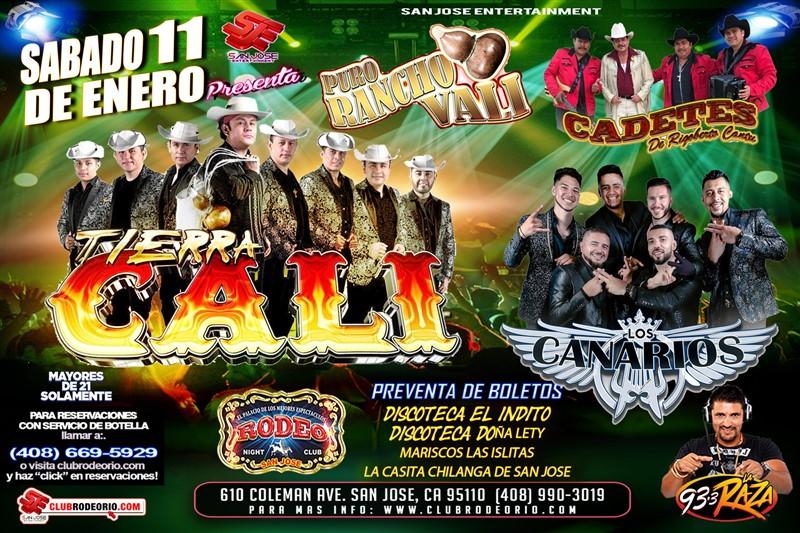 Get Information and buy tickets to Tierra Cali,Los Canarios de Michoacan y Cadetes de Linares  on clubrodeorio.com