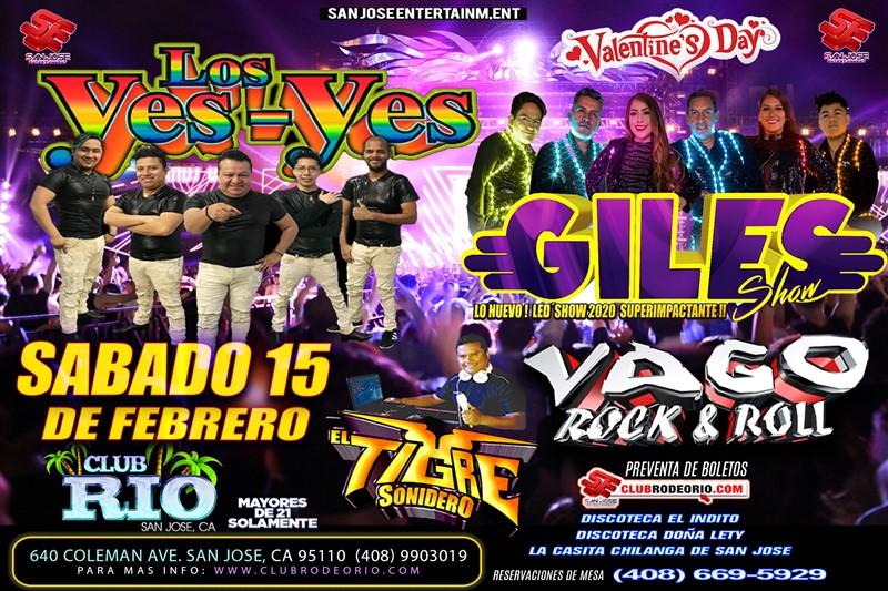 Get Information and buy tickets to Los Giles,Los Yes Yes,Sonido Vago y El Tigre Sonidero  on clubrodeorio.com