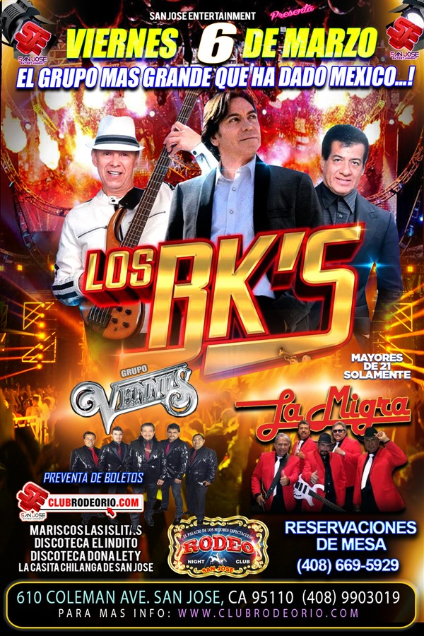 Get Information and buy tickets to Los Bk