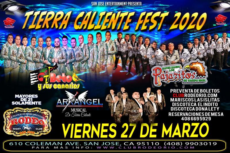 Obtener información y comprar entradas para Beto y sus Canarios, Pajaritos de Tacupa y Arkangel Musical  en elrodeorio.com.