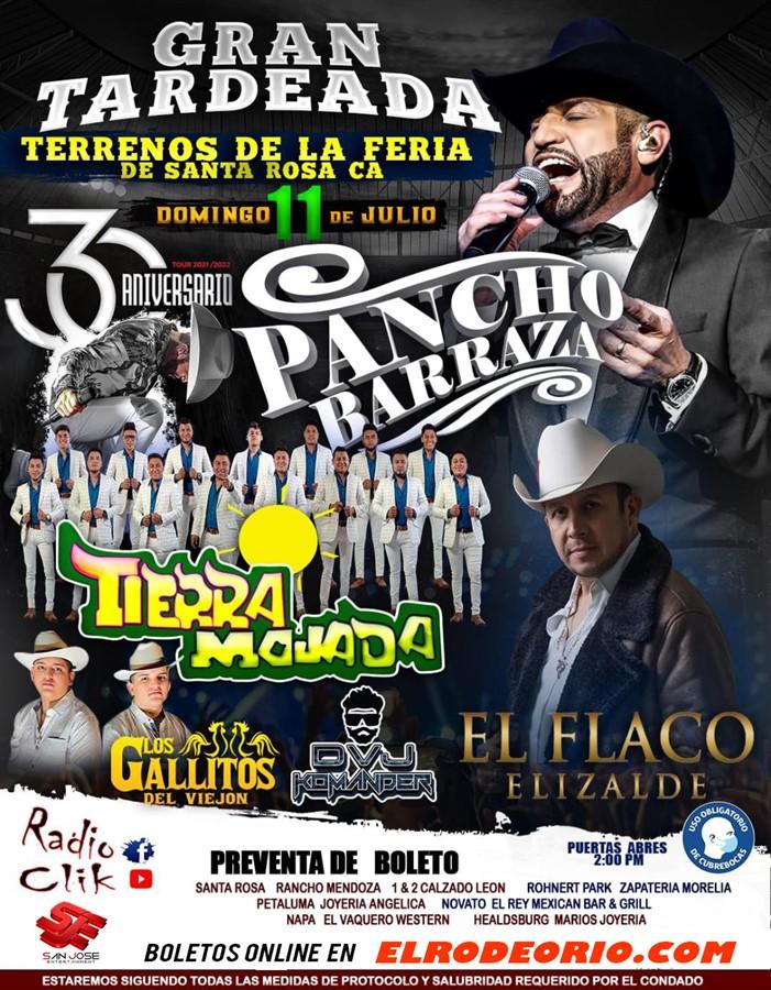 Obtener información y comprar entradas para Pancho Barraza,Santa Rosa CA  en elrodeorio.com.