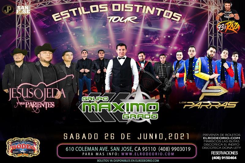 Obtener información y comprar entradas para Maximo Grado,Jesus Ojeda y Los Parras  en elrodeorio.com.
