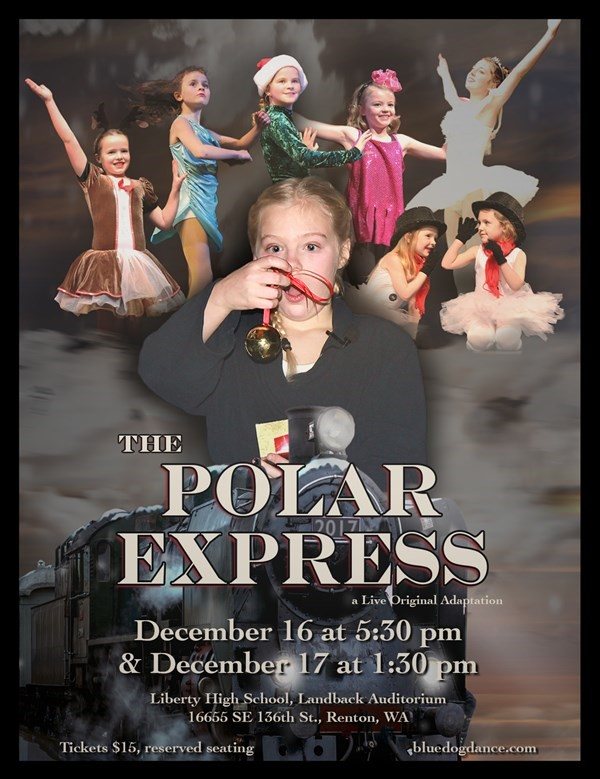 Get Information and buy tickets to The Polar Express - Sunday 1:30 Blue Dog Dance