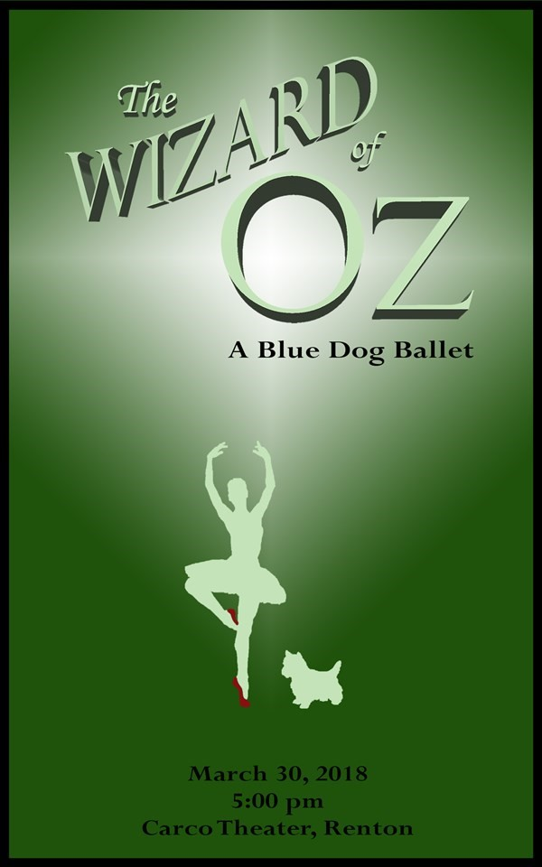 Get Information and buy tickets to The Wizard of Oz A Blue Dog Ballet on Blue Dog Dance