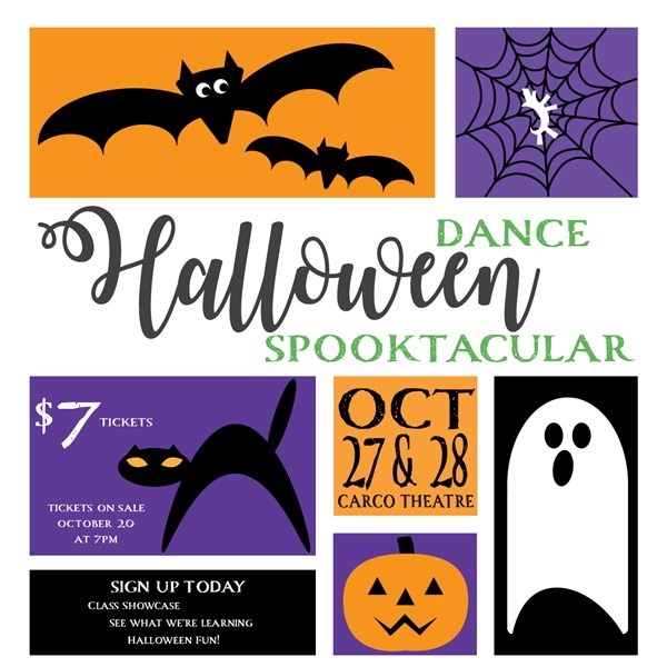 Get Information and buy tickets to Sunday 4:30pm Dance Spooktacular  on Blue Dog Dance