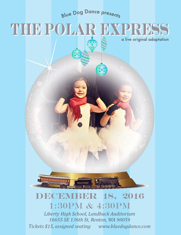 Get Information and buy tickets to Polar Express 4:30pm Show An Original Live Adaptation on Blue Dog Dance