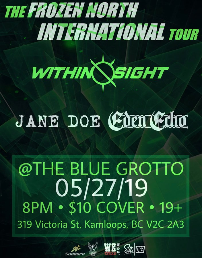 Get Information and buy tickets to WITHIN SIGHT WITH JANE DOE AND EDEN ECHO  on The Blue Grotto