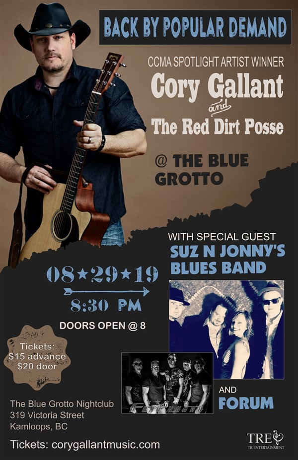 Cory Gallant and The Red Dirt Posse/with Guests