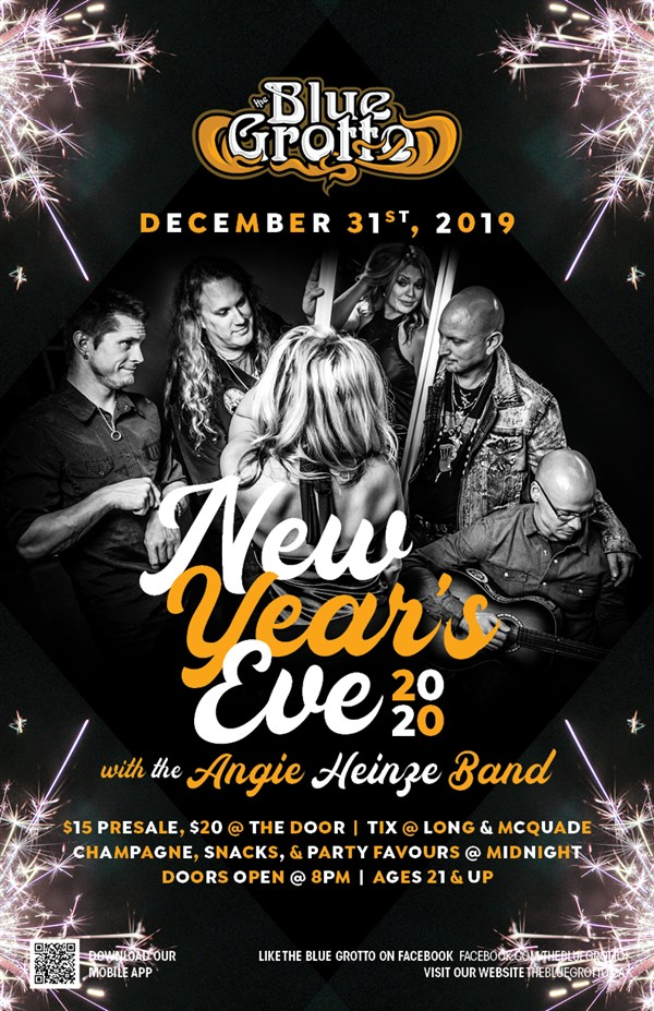 Get Information and buy tickets to NYE 2020  on The Blue Grotto
