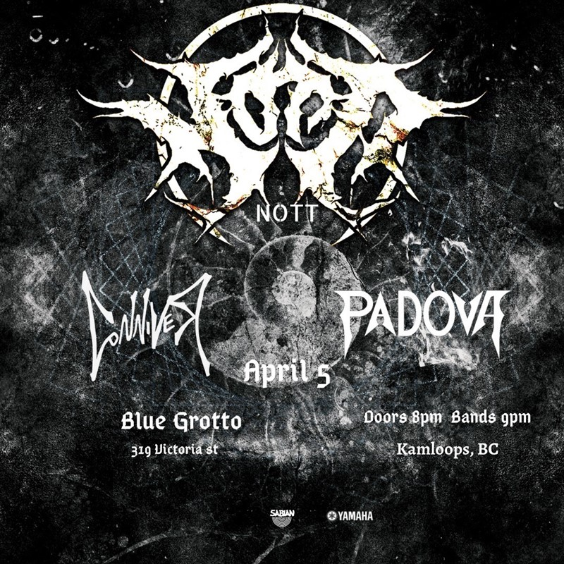 Get Information and buy tickets to NOTT, CONNIVAR, PADOVA  on The Blue Grotto