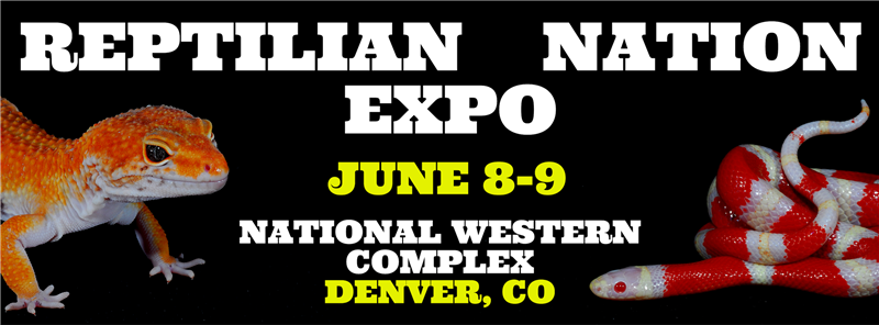 Get Information and buy tickets to REPTILIAN NATION EXPO -DENVER  on Reptilian Nation Expo